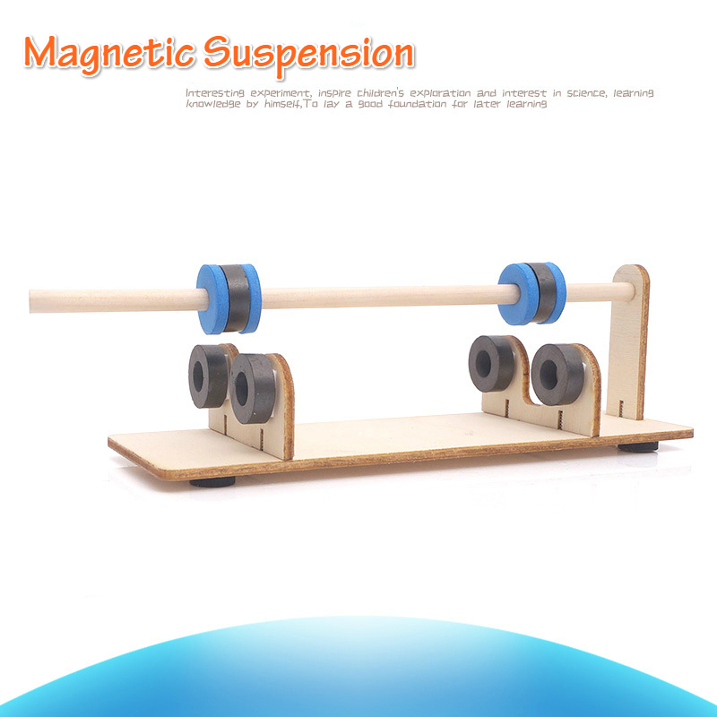 DIY Magnetic Suspension Science Toys For Children Physics Laboratory Pen STEM Learning Kids Explore Kits Educational Toys