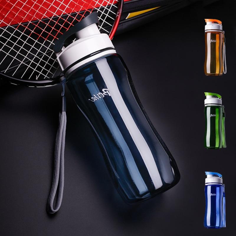 720 ML Plastic Water Bottle Student Outdoor Sports School Portable Dispenser Travel My Cup Leak-proof Shaker Garrafa Termica