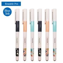 цена 3 Pcs/Set Cute Erasable Pen Refill Rod 0.38mm Blue/Black Ink Washable Handle Erasable Gel Pen School Office Writing Stationery онлайн в 2017 году