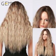 Gemma длинные кудрявые вьющиеся волосы термостойкие синтетические