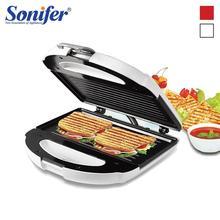 750 Вт электрическая вафельница сэндвич-машина пузырчатая печь для гонконгских вафель для завтрака, для кухни Пузырьковые вафельные пончики мульти-пекарь Sonifer