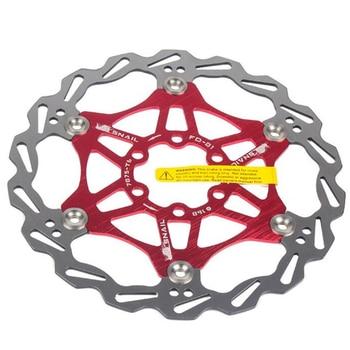 Rotores de disco flotante para bicicleta de montaña, alta calidad, 180mm, pastillas...