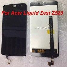 """Orijinal LCD için 5.0 """"Acer sıvı Zest Z525 Z528 T06 T07 15 22251 60561 LCD ekran + dokunmatik panel sayısallaştırıcı aracı ile"""