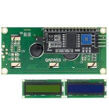 10 pces módulo lcd azul tela verde iic/i2c 1602 para arduino 1602 lcd uno r3 mega2560 lcd1602 + ic2