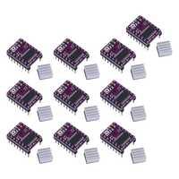 10Pcs Stepstick Drv8825 Schrittmotor Fahrer 4 PCB Board Ersetzen A4988 3D Drucker Teile für SKR V1.3 PRO MKS GEN