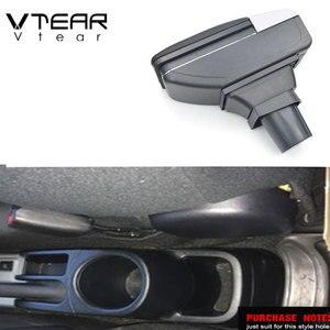 Image 2 - Vtear עבור טויוטה אקווה פריוס C משענת עור ABS זרוע שאר usb אביזרי להגן אחסון תיבת חלקי פנים רכב סטיילינג אוטומטי