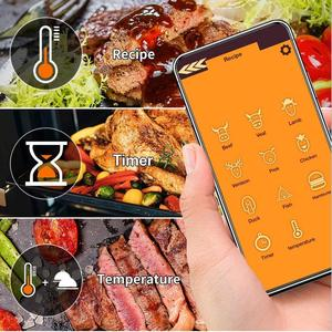 Image 2 - Meat Thermometer Wireless Digital Kitchen Food Cooking Oven Grill Smoker BBQ Accessories Bluetooth Connect Waterproof Best Gift