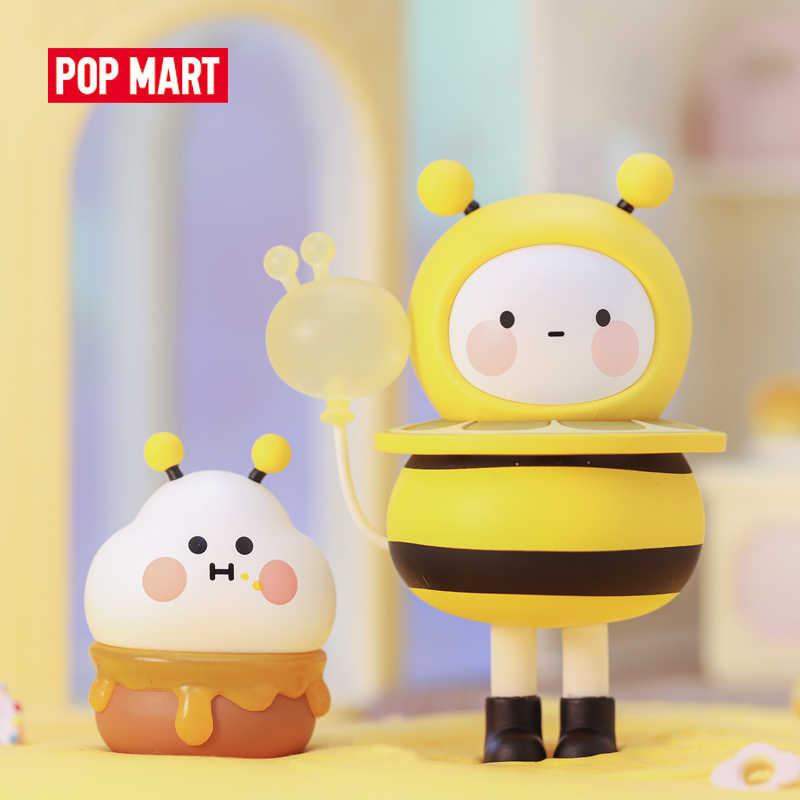 ポップマートボボココバルーン土地おもちゃ図ブラインドボックスアクションフィギュア誕生日ギフトの子供のおもちゃ送料無料