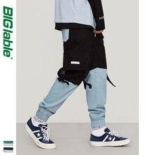 2019 Otoño Invierno Pantalones cargo Hombre Pantalon Homme Hip Hop