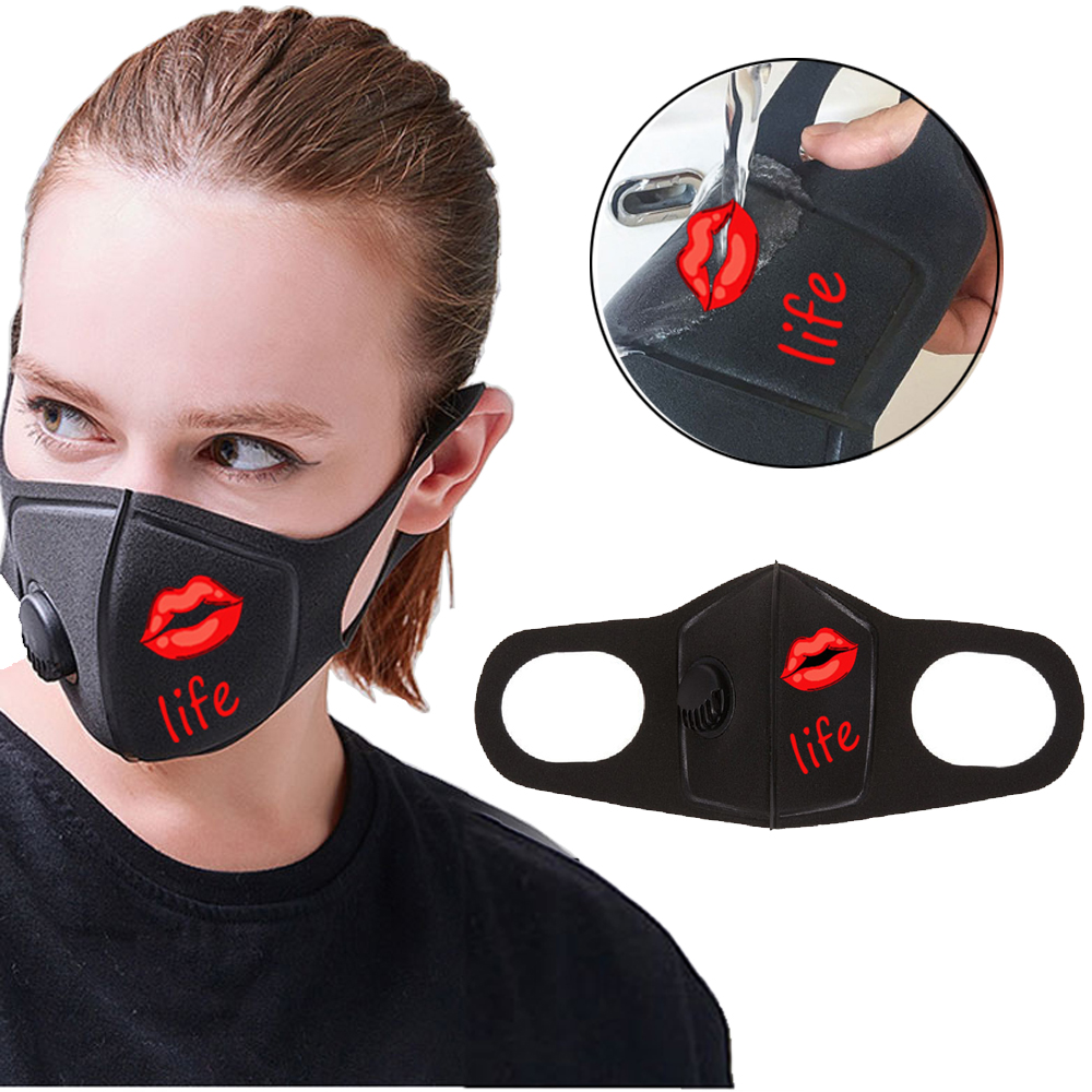 1Pcs Respiratory Dust Mask Upgraded Version Men & Women Anti-fog Haze Dust Pm2.5 Pollen 3D Cropped Breathable Mouth Mask