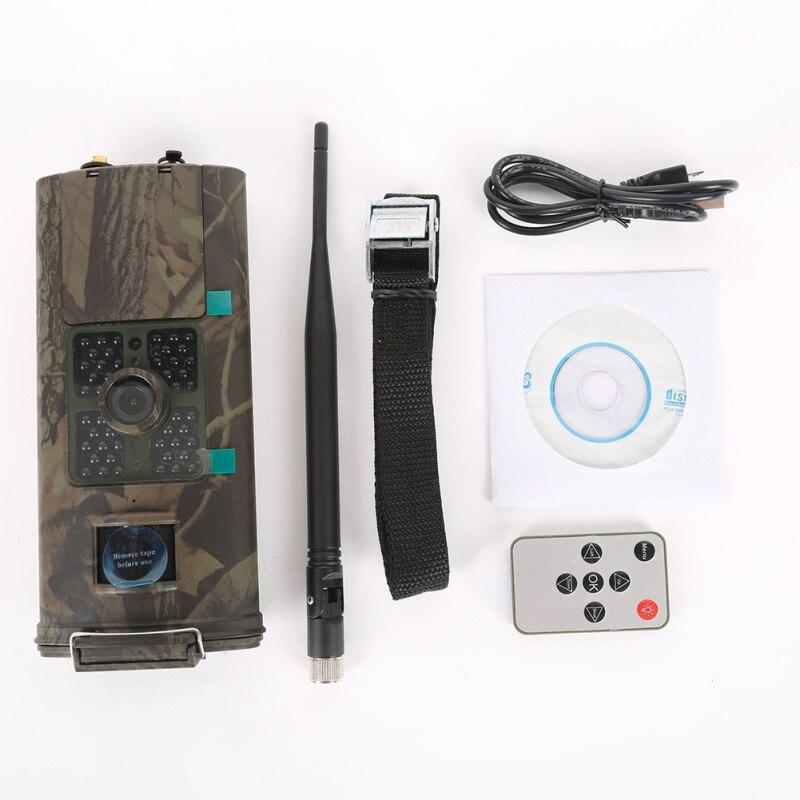 Caméra de chasse HC700G 16MP caméra de chasse de sentier 3G GPRS MMS SMTP SMS 1080P Vision nocturne 940nm sécurité infrarouge GMT601
