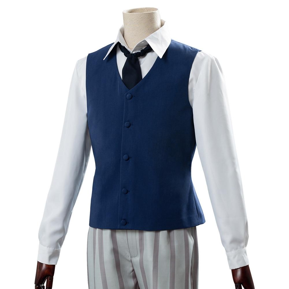 Details about  /Beastars Legosi Louis Cherryton High School Uniform Cosplay Costume Outfit