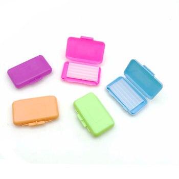 5 Box  Orthodontic Wax For Braces gum irritation Dental Oral Care Orthodontic Ortho Wax Mint Apple Orange Strawberry Grape