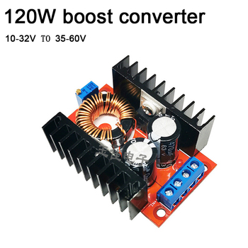 DYKB 120W DC-DC Boost Converter 10-32V 12V 24V TO 36V-60V 48V Adjustable Voltage Regulator Power Module car Charging battery image