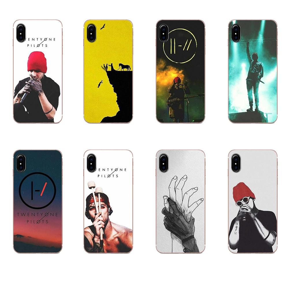 Band Twenty One Pilots Art Fundas Phone Case Cover For Apple Iphone 11 Pro X Xs Max Xr 4 4s 5 5c 5s Se Se2 6 6s 7 8 Plus Phone Case Covers Aliexpress