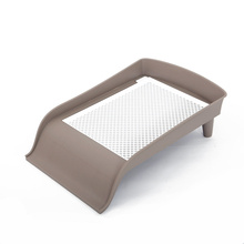 Small Pet Toilet Slide-type Stereo Dog Toilet Teddy  Dog Products Sifting Cat Litter Box Toilet Training Cats Pet Box Dog Potty megabass dog x speed slide