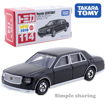 Takara Tomy Tomica No.114 Toyota Century Black Scale 1/70 Car Hot Pop Kids Toys Motor Vehicle Diecast Metal Model Collectibles image