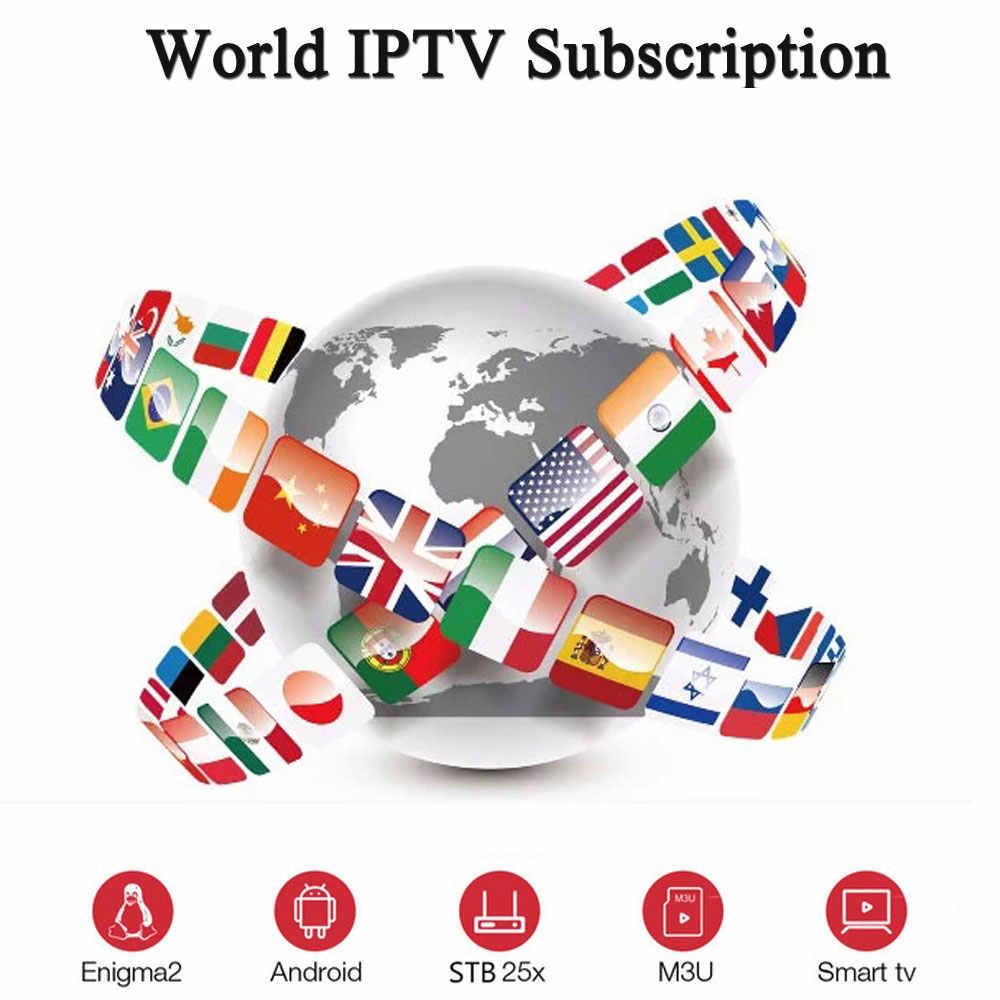 2 ngày IPTV thuê bao thử nghiệm cho Android TV BOX SMART TIVI boxportugal Tây Ban Nha Anh Mỹ Canada Châu Âu IPTV