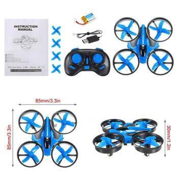 JJR/C JJRC H36 Mini Quadcopter 2.4G 4CH 6-Axis Speed 3D Flip Headless Mode RC Drone Toy Gift Present RTF VS E010