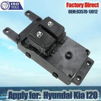 Interruptor de Ventanilla de alimentación automática para Hyundai I20 Kia 2011, interruptor elevador de ventana 93570-1J012, directo de fábrica