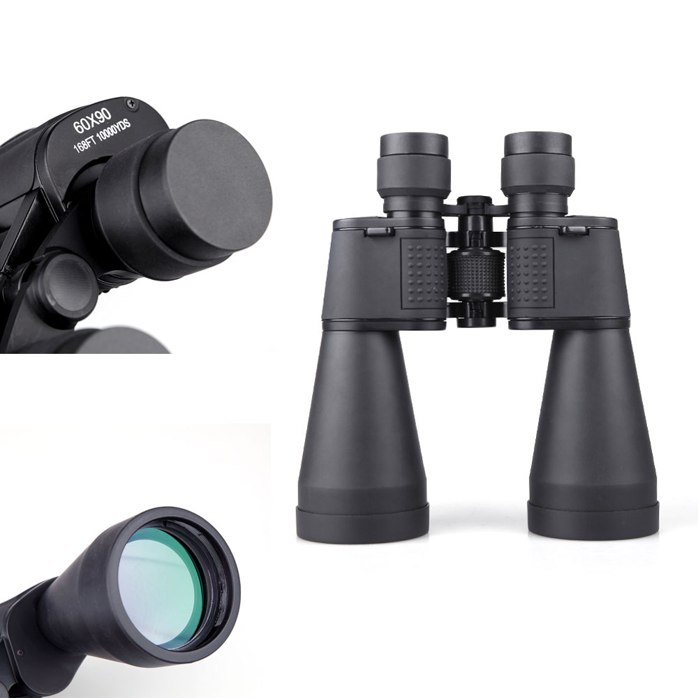 High Definition 60X90 Outdoor Telescope Travelling Camping Hiking Portable Binocular Sight Military Airsoft Optics Binoculars image