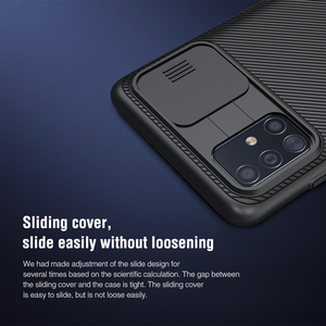 Image 4 - for Samsung Galaxy A51 Case Nillkin Slide Camera Protection Cover for Samsung Galaxy A71 M51 M31S A42 5G Case
