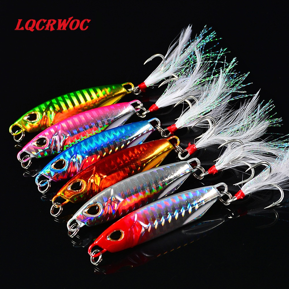 HOT NEW 10g 15g 20g 30g 40g 50g fishing jigging lure spoon spinnerbait metal bait bass tuna lures jig lead minnow pesca tackle 4