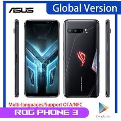 Asus ROG Phone 3 5G игровой смартфон глобальная Версия 512 ГБ 12 Гб Snapdragon 865 + 6,59 дюйм64MP 6000 мАч NFC ROG3 игровой мобильный телефон