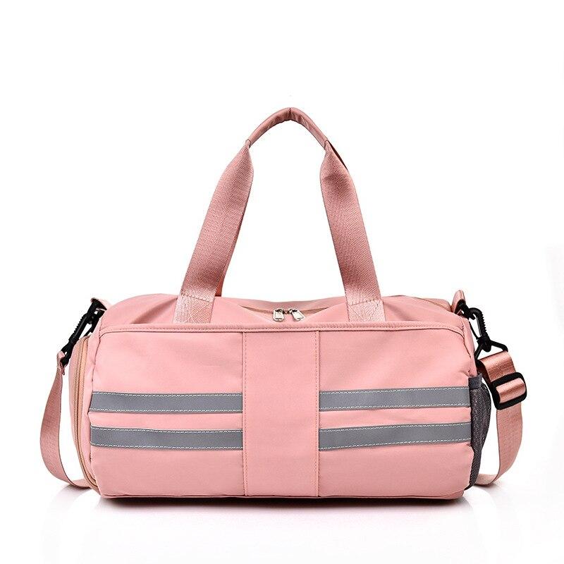 Мужские тренировочные уличные спортивные сумки, женские водонепроницаемые спортивные сумки для фитнеса, сухая влажная разделенная