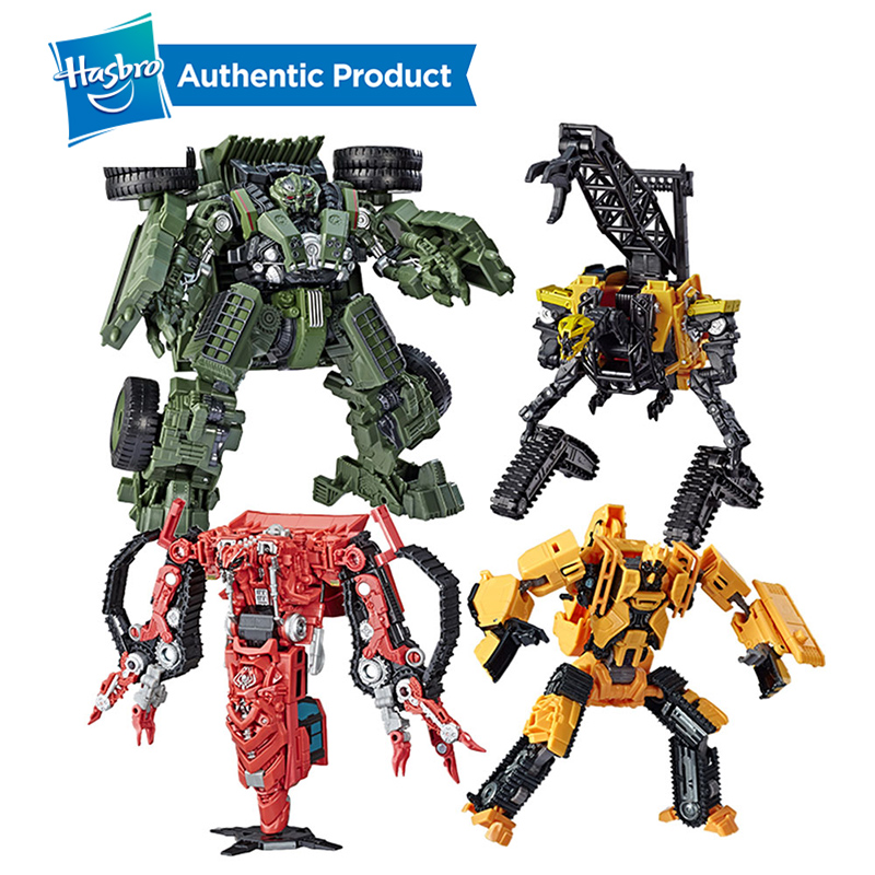 Hasbro Transformers Toys Studio Series Voyager Class SS42 Long Haul SS37 Construction Rampage SS47 High Tower Action Figures