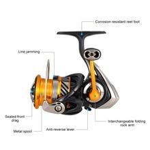 26LB スピニングリール左右互換釣りリール 強力なリール ダイワ軽量スピニングリール