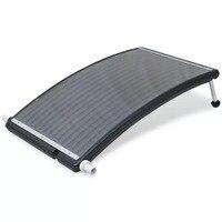 VidaXL PE материал Солнечный нагреватель для бассейна 100% PE материал Солнечный нагреватель для бассейна в комплекте 1 соединительный шланг и 2 хо...