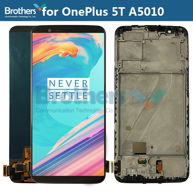 Screen For OnePlus 5T LCD Screen LCD Display For OnePlus5T A5010 LCD Assembly Touch Screen Digitizer Phone Part Replacement Test