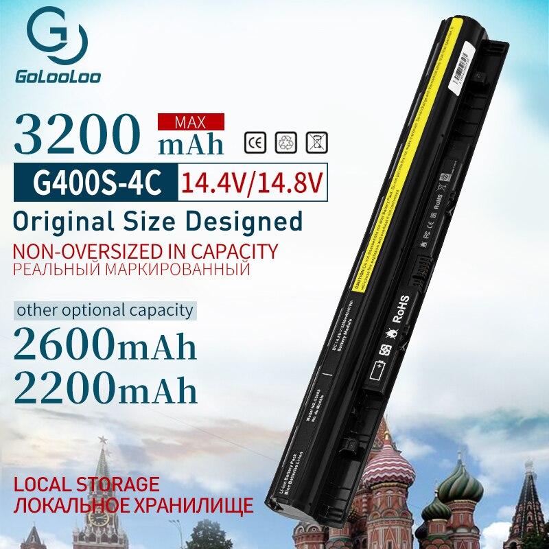 Golooloo 3200mAh New Laptop Battery For Lenovo G400s G405s L12L4A02 L12L4E01 G410s G500s  L12S4A02 L12S4E01 L12M4E01 L12M4A02