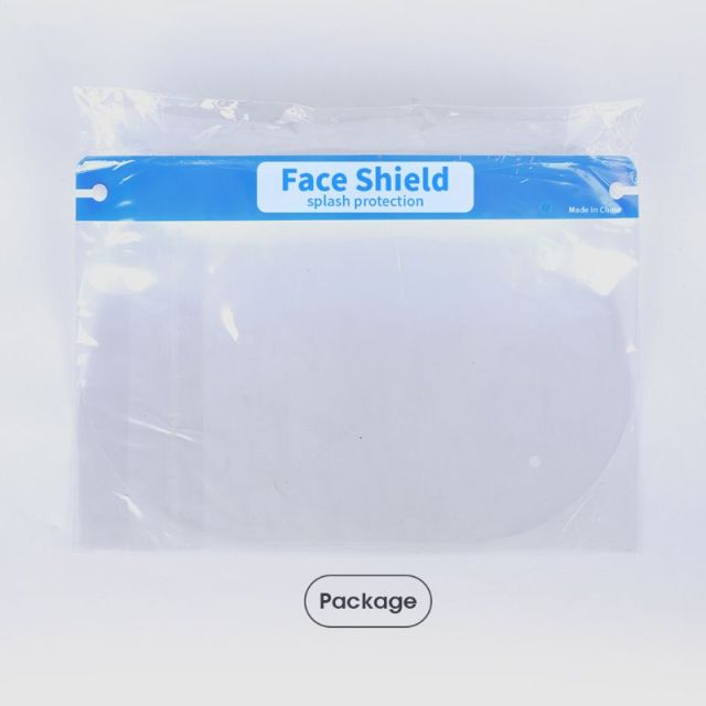 Transparent Adjustable Full Face Shield Plastic Anti-Saliva Protective Mask 2