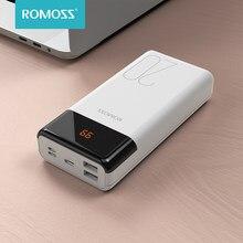 ROMOSS – batterie externe double USB LT20PS de 20000 mAh, avec affichage LED, pour téléphones portables, 20000 mAh