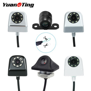YuanTing Car Front Side Rear View Reverse/Forward Camera Waterproof HD Distance Scale Lines for Auto Parking Sensor System(China)