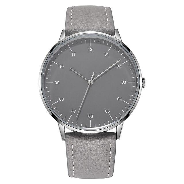 Мужские часы с кожаным ремешком TPW