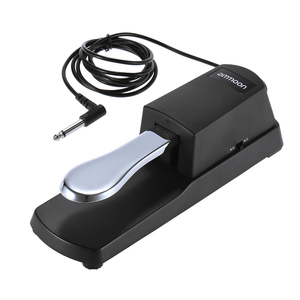 ammoon Piano Keyboard Sustain Damper Pedal for Roland Korg Electric Piano Electronic Organ Synthesizer(China)