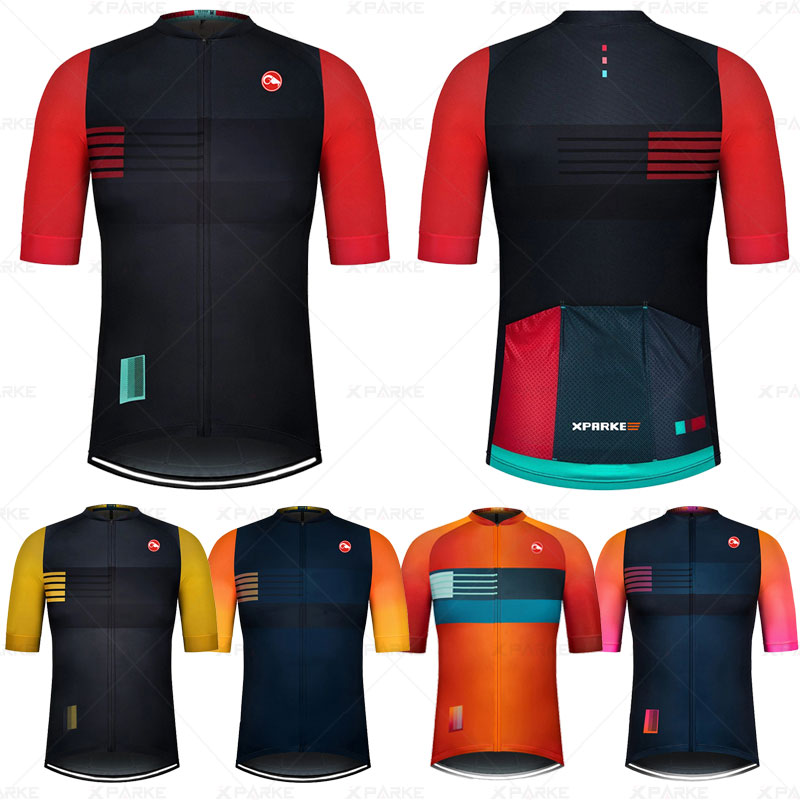 New  2020 Pro Breathable Bicycle Clothing Ropa Ciclismo Men's Summer Quick-drying Champion Clothing Triathlon Sweatshirt Kit