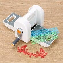 Главная декорации высечки машина Скрапбукинг резак бумаги DIY тиснение штампы инструмент высечки тиснение машина