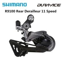 Shimano Dura Ace R9100 RD R9100 Racefiets Fietsonderdelen 11 Speed Achterderailleur Ss Originele R9100 Derailleur