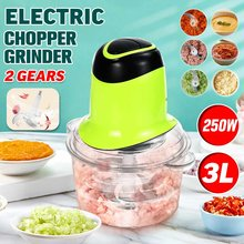 Hachoir à viande électrique 3l, 2 vitesses, puissant hachoir à viande ménager, Machine à hacher automatique, robot de cuisine