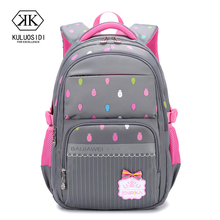 Brand Orthopedic School Bag Backpack for Girls Children Backpack Schoolbag Mochila Infantil Grade 3-6 недорого