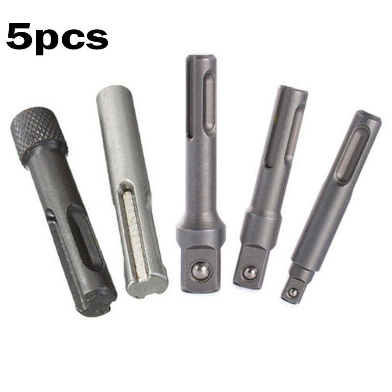 "1//2/"" 2-13MM Keyless Drill Bit Chuck Clip with Hex Shank Rod Adapter Kit"