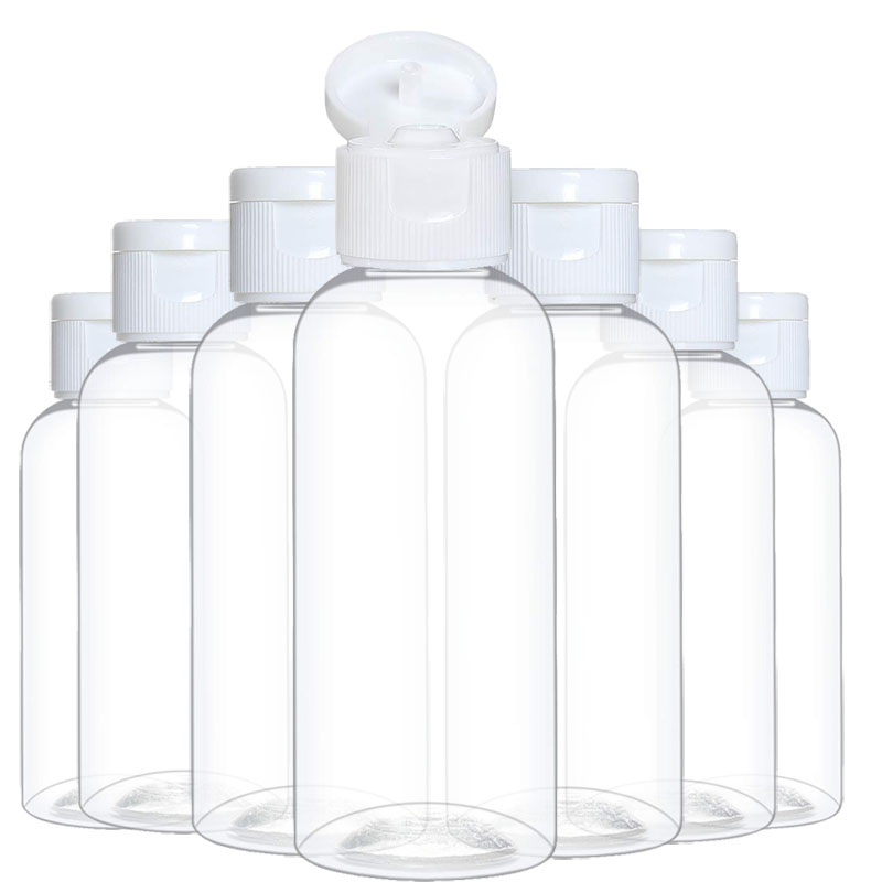 20 шт 10/30/50/60/100 мл Пластик бутылки шампуня пустые Вейл для путешествий контейнер для косметики Лосьон