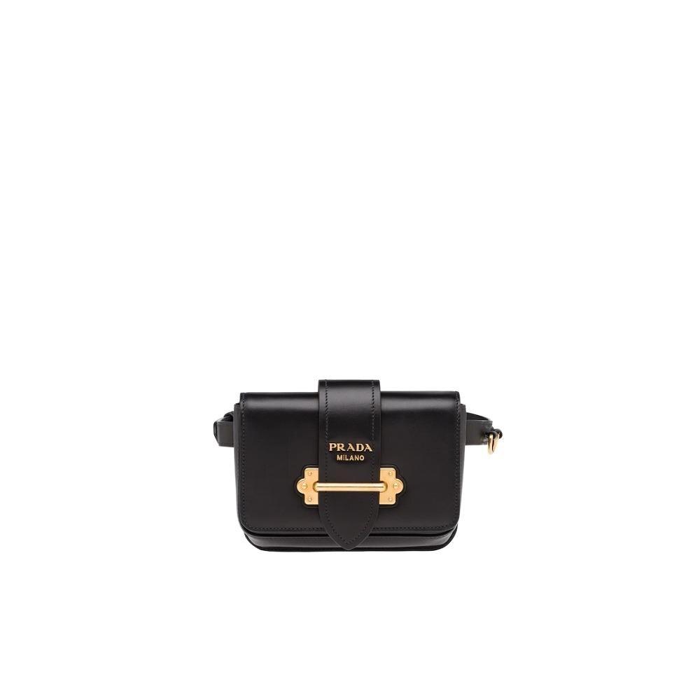 Fashion Prada Cahier Belt Bag Waist Fanny Pack Belt Bag Pouch Bum Bag Travel Small Purse 1BL004_2AIX_F0002_V_OCO