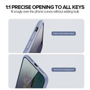 Image 2 - Ugreen kılıfı için iPhone 7 8 X XS XR durumda siyah mavi gri silikon Apple iPhone 7 8 X XS durumda iPhone 7 için kılıf