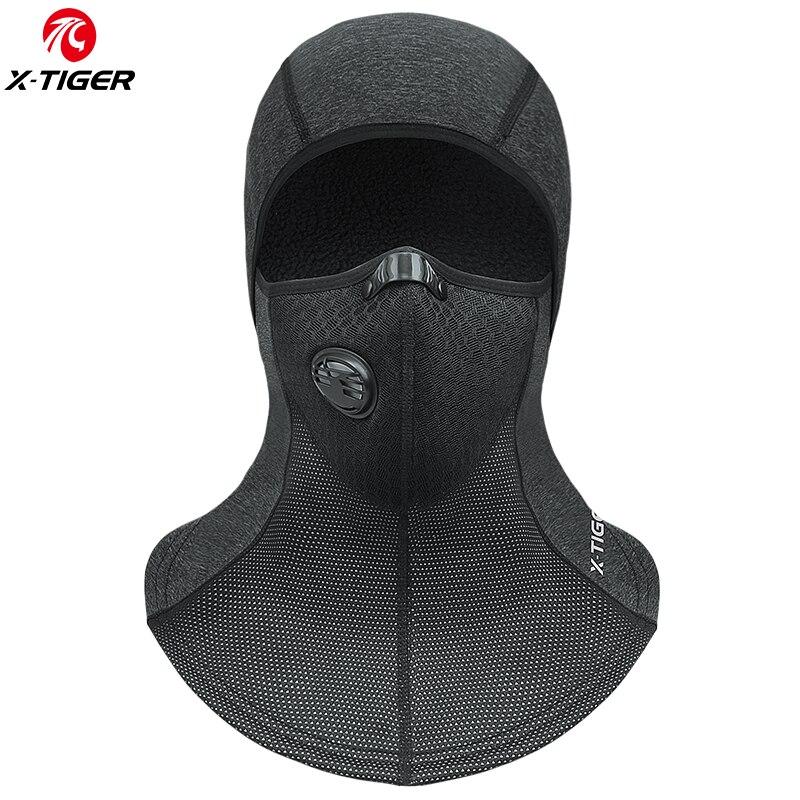 X-TIGER Winter Warm Halten Radfahren Gesicht Maske Ski Maske Thermische Fleece Schal Snowboard Schild Hut Outdoor Skating Bike Headwear kappe
