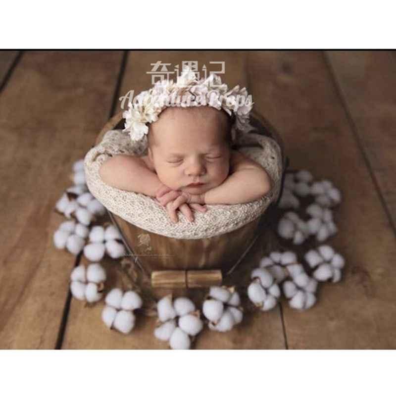 2020 noworodka fotografia rekwizyty kosz miękkie koronki farsz koc/sztuczny kwiat dekoracji dziecko rekwizyty fotograficzne Studio strzelanie